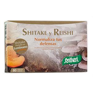 Shiitake y Reishi Santiveri