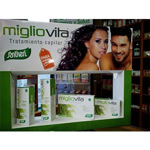 Tratamiento Capilar Migliovita - Santiveri | Cápsulas - Champú - Bálsamo